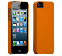 Case Mate Barely There UltraSlim Case για iPhone 5/5S/5SE Orange CM022402