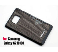 "Soultronic Battery Cover ""Wooden Brown Pattern"" για Samsung Galaxy S II GT-i9100, GT-i9100G"