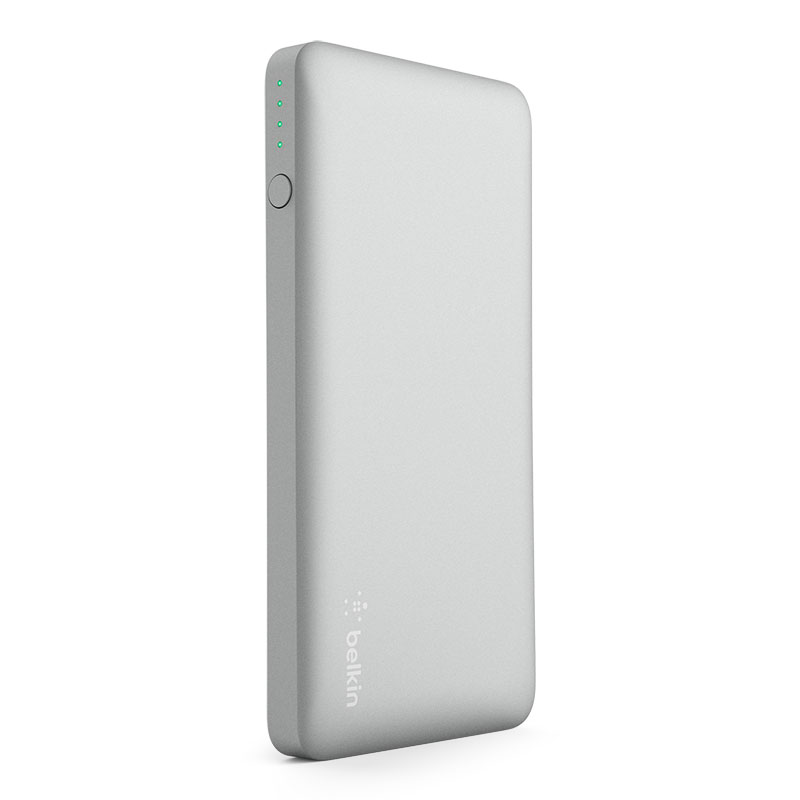 Belkin F7U019btSLV Pocket Power 5K 5000mAh με έξοδο USB @ 2.4A: Φορητή Μπαταρία για Smartphones & Tablets