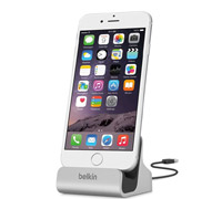 Belkin F8J045bt Charge & Sync Dock (φόρτιση και συγχρονισμός) για Apple iPhone 8, 8 Plus, 7, 7 Plus, 6s, 6s Plus, SE, 5S κτλ