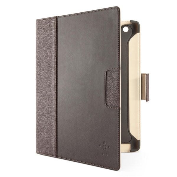 Belkin F8456vfC02 Cinema Leather Folio With Stand Brown για Samsung Galaxy Note 10.1 N8000