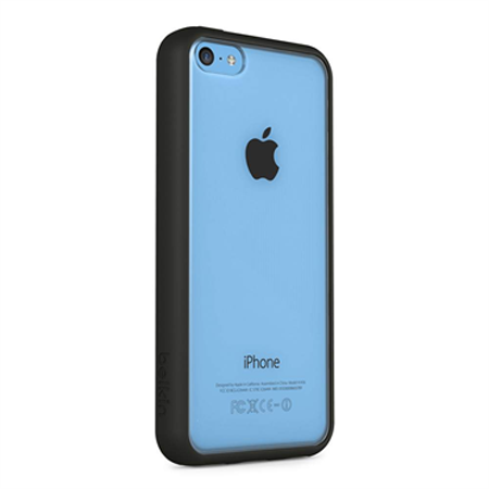 Belkin View (TPU) Cover Case για iPhone 5c (F8W372B1C00) Black-Clear