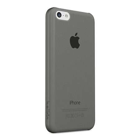 Belkin Micra Sheer Matte Cover Case για iPhone 5/5S/SE/5c (F8W395B1C00) Gray