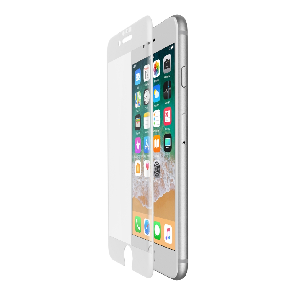 "Belkin ScreenForce TemperedCurve Glass για Apple iPhone iPhone 6/6s/7 & 8 (4.7"") (F8W853zzWHT) White (Case Friendly)"