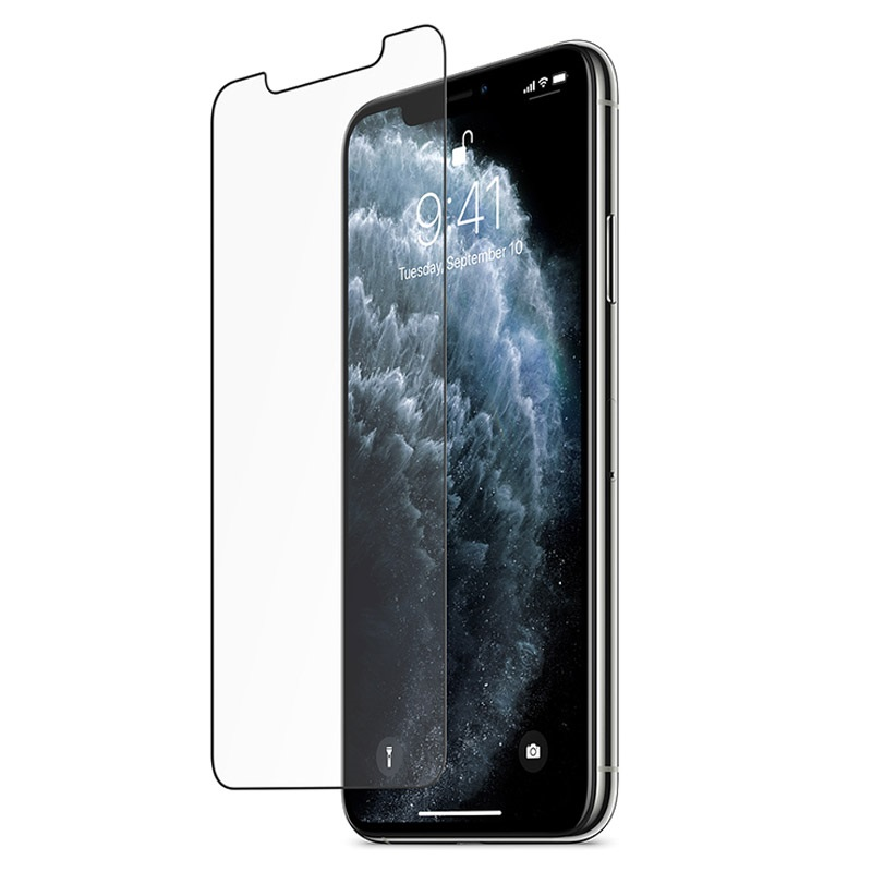 Belkin InvisiGlass UltraCurve Screen Protection Black για Apple iPhone XS Max - 11 Pro Max (F8W944zzBLK)