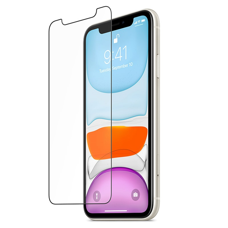 Belkin InvisiGlass UltraCurve Screen Protection Black για Apple iPhone iPhone XR - 11 (F8W945zzBLK)