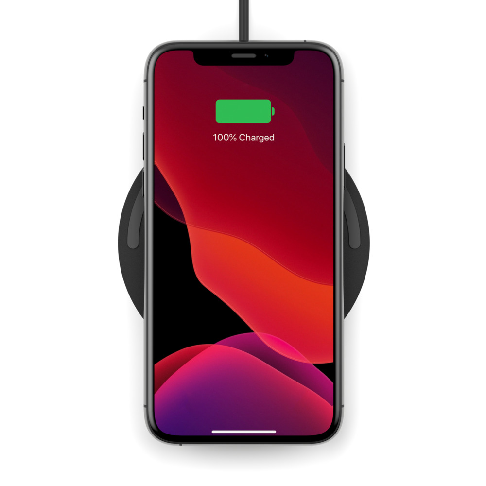 Belkin Boost Charge 10W Wireless Charging Pad + Cable (WIA001btBK)