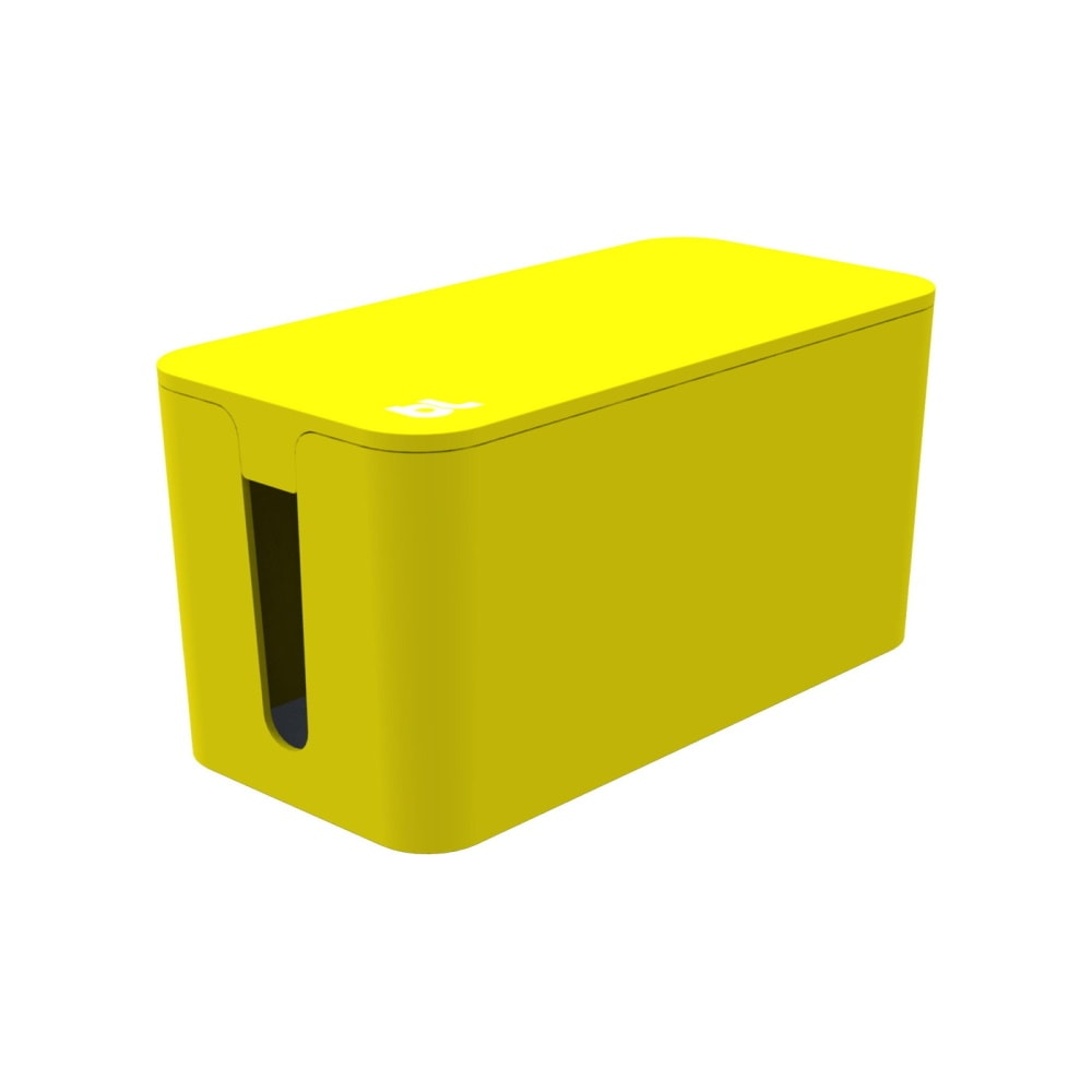 Bluelounge CableBox Mini Cable Management Yellow (Τακτοποίηση Καλωδίων)