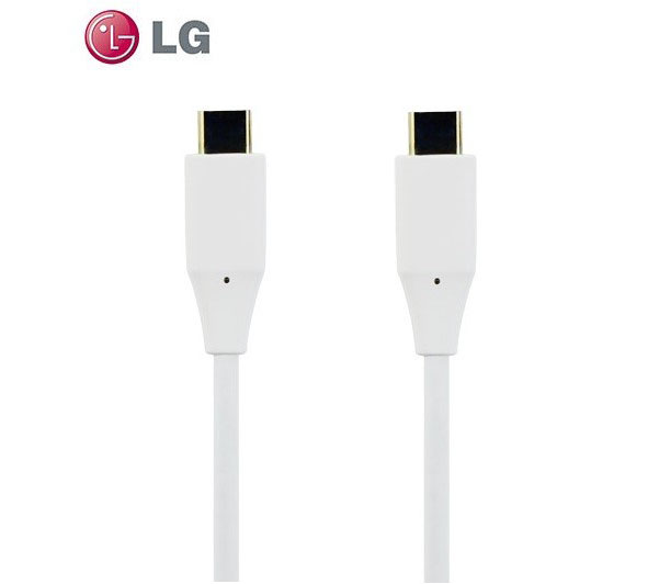 LG EAD63687002 3.1 Type-C (USB-C) > Type-C (USB-C) Data & Charge Cable 1.0m
