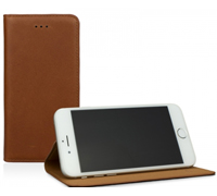 "Caseual Real Leather Slim & Stand Case για iPhone 6 / 6S (4.7"") Italian Brown"