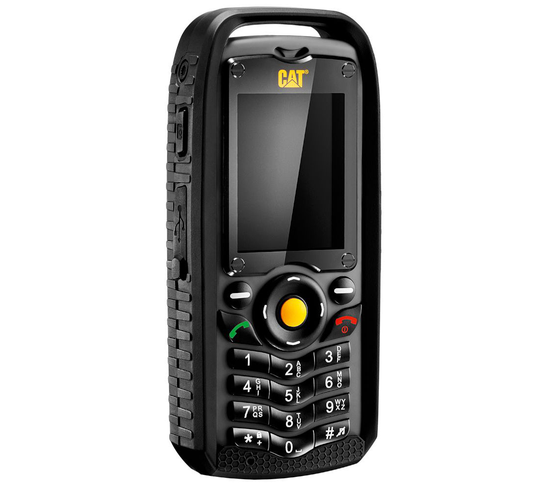 Cat (Caterpillar) B25 Dual Sim (2 κάρτες), Dust (Ανθεκτικό) & Water Resistant (Αδιάβροχο) Mobile Phone Black