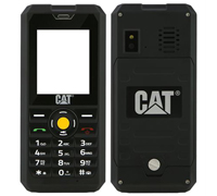 Cat (Caterpillar) B30 Dual Sim (2 κάρτες), Dust (Ανθεκτικό) & Water Resistant (Αδιάβροχο) Mobile Phone Black