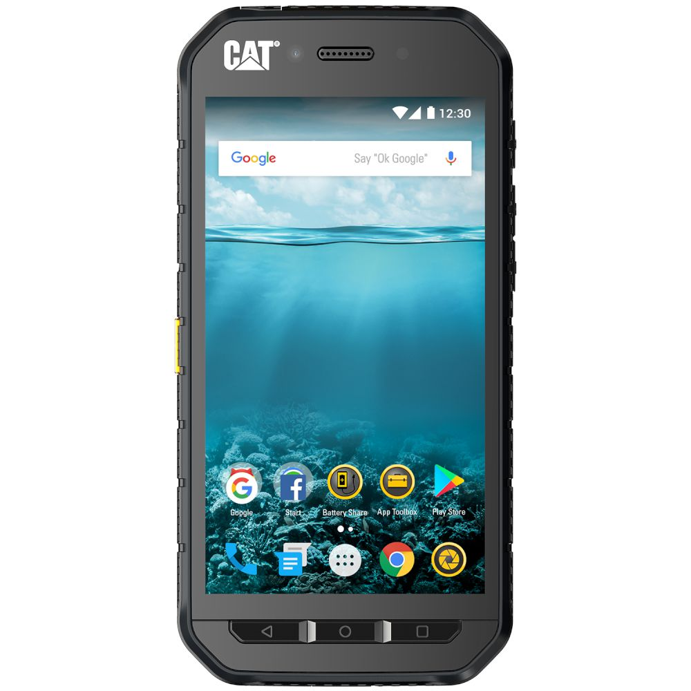 Cat (Caterpillar) S41 Dual Sim (2 κάρτες), Dust (Ανθεκτικό) & Water Resistant (Αδιάβροχο) Android Smartphone Black