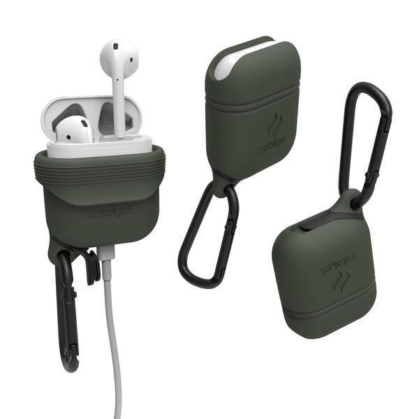 Catalyst Case WaterProof (1m), DirtProof (6x), SnowProof, ShockProof (1.2m) Army Green για Apple Airpods