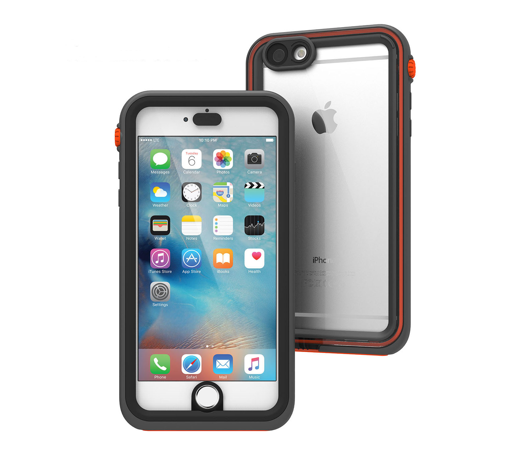 Catalyst Case With TouchID WaterProof (10m), DirtProof (6x), SnowProof, ShockProof (2m) Rescue Ranger για iPhone 6/6S Plus (5.5)
