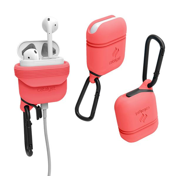 Catalyst Case WaterProof (1m), DirtProof (6x), SnowProof, ShockProof (1.2m) Coral για Apple Airpods