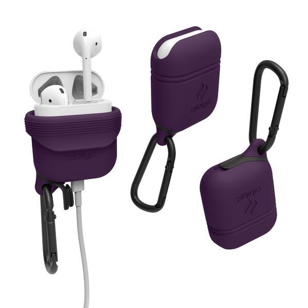Catalyst Case WaterProof (1m), DirtProof (6x), SnowProof, ShockProof (1.2m) Deep Plum για Apple Airpods