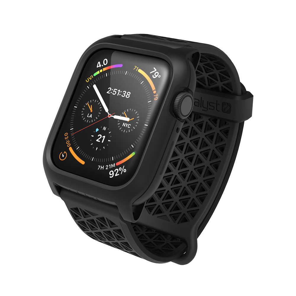 Catalyst Impact Protection Case Drop Proof (3m) Stealth Black για Apple Watch Series 4 (44mm)