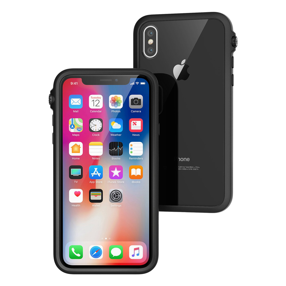 "Catalyst Impact Protection Case για iPhone X (5.8"") Stealth Black"