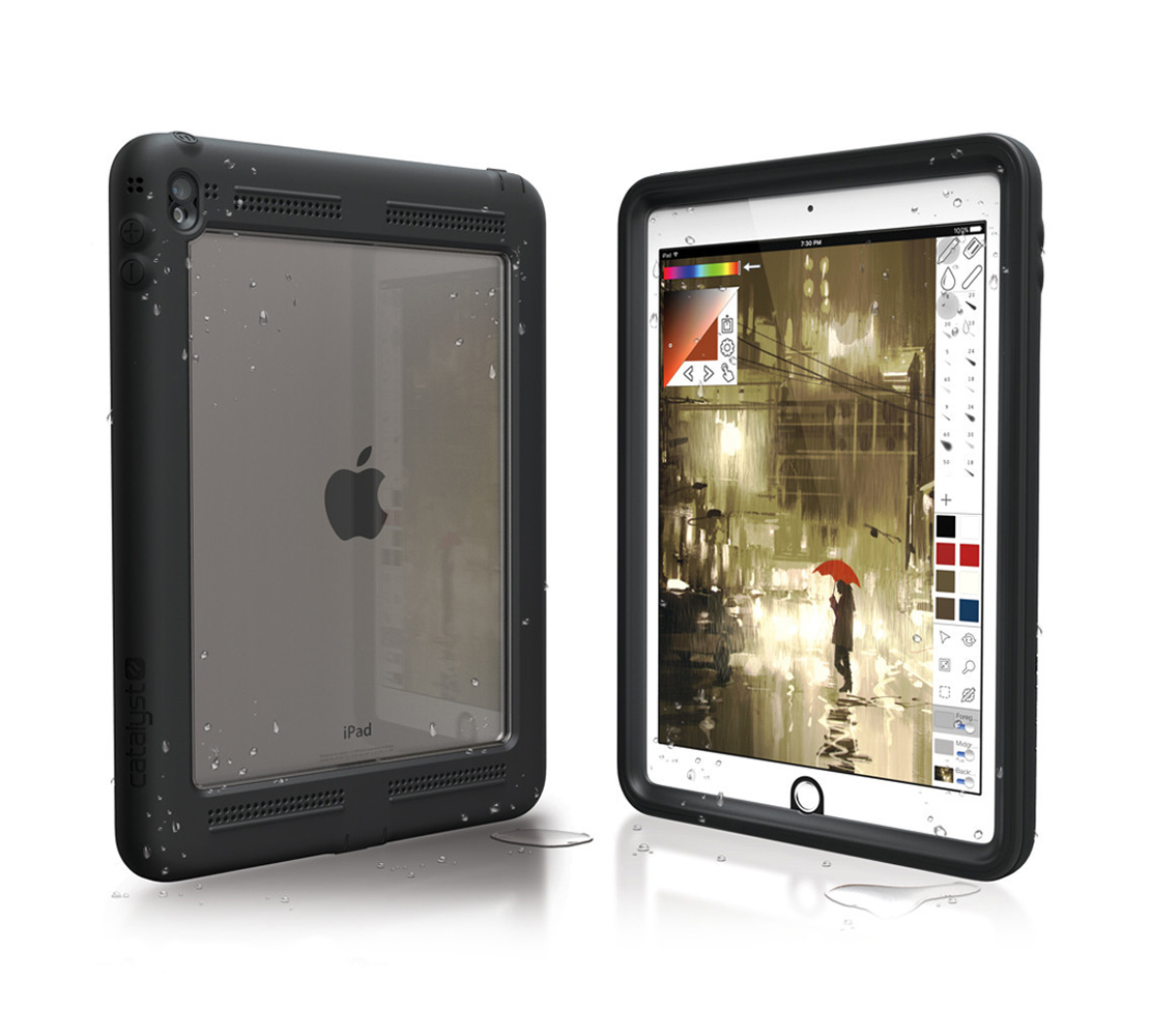 "Catalyst Case With TouchID WaterProof (5m), DirtProof (6x), SnowProof, ShockProof (2m) Black για iPad Pro (9.7"")"