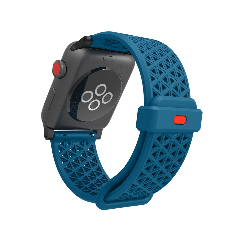 Catalyst Sport Band (λουράκι σιλικόνης) Blueridge / Sunset για Apple Watch Series 2, Series 3 (42mm) & Series 4 (44mm)