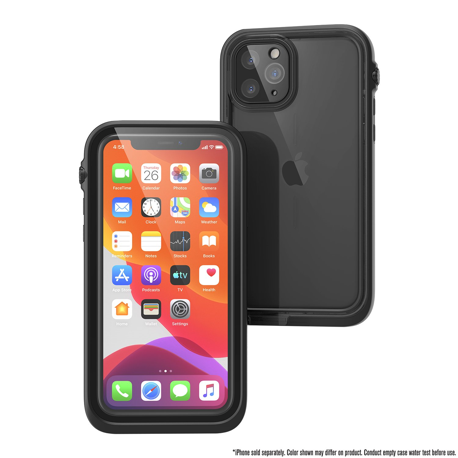 Catalyst Case WaterProof (10m), DirtProof (6x), SnowProof, ShockProof (2m) Stealth Black για iPhone 11 Pro
