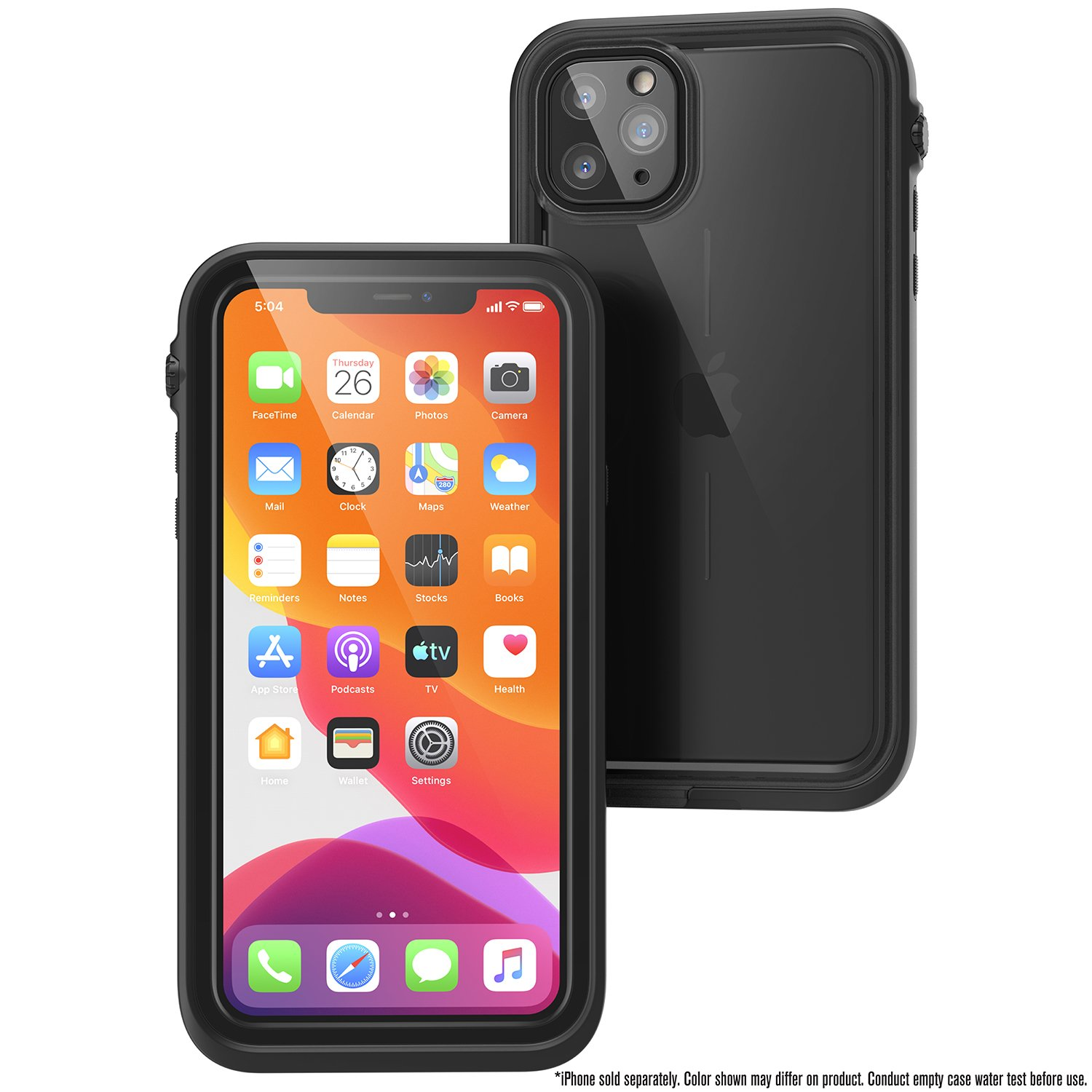 Catalyst Case WaterProof (10m), DirtProof (6x), SnowProof, ShockProof (2m) Stealth Black για iPhone 11 Pro Max