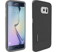 Case Mate Tough Stand Case για SM-G925F Galaxy S6 Edge Black/Clear CM032576