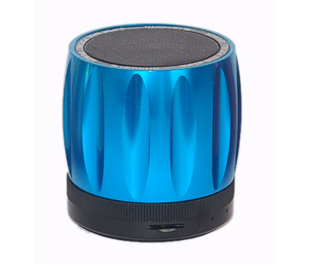 Rebeltec Explode Blue 3W Multimedia Bluetooth Speaker & Hands-free with FM Radio + microSD + Line-In