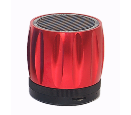 Rebeltec Explode Red 3W Multimedia Bluetooth Speaker & Hands-free with FM Radio + microSD + Line-In