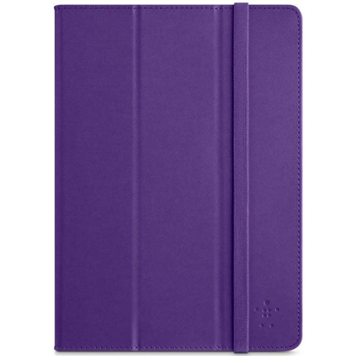 Belkin F7N056B2C01 Trifold Cover + Multi-View Stand για iPad Air Purple | Protection, Viewing & Typing