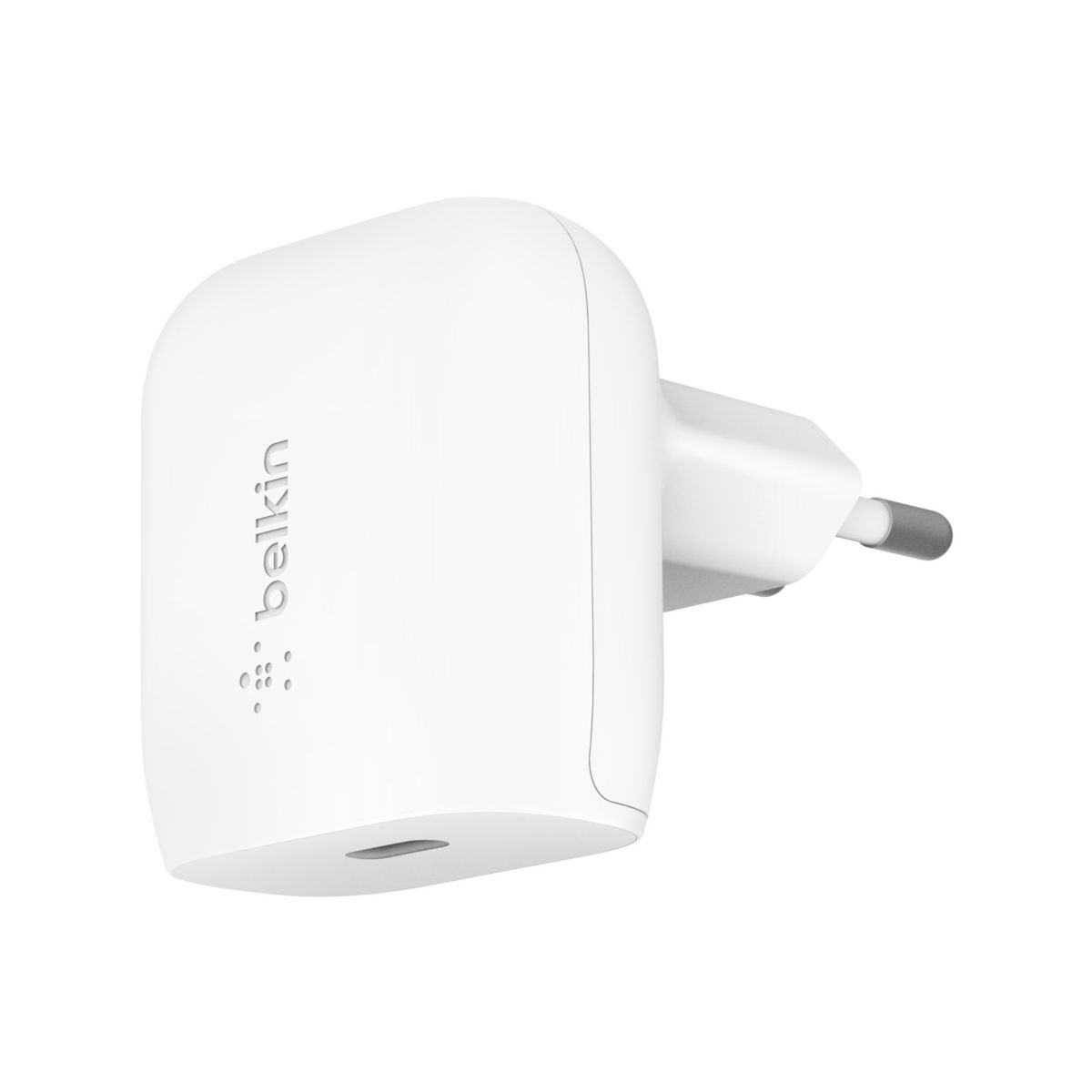Belkin F7U096vfWHT Type-C (USB-C) Wall Charger 18W | FastCharge | 0-50% σε 30 λεπτά