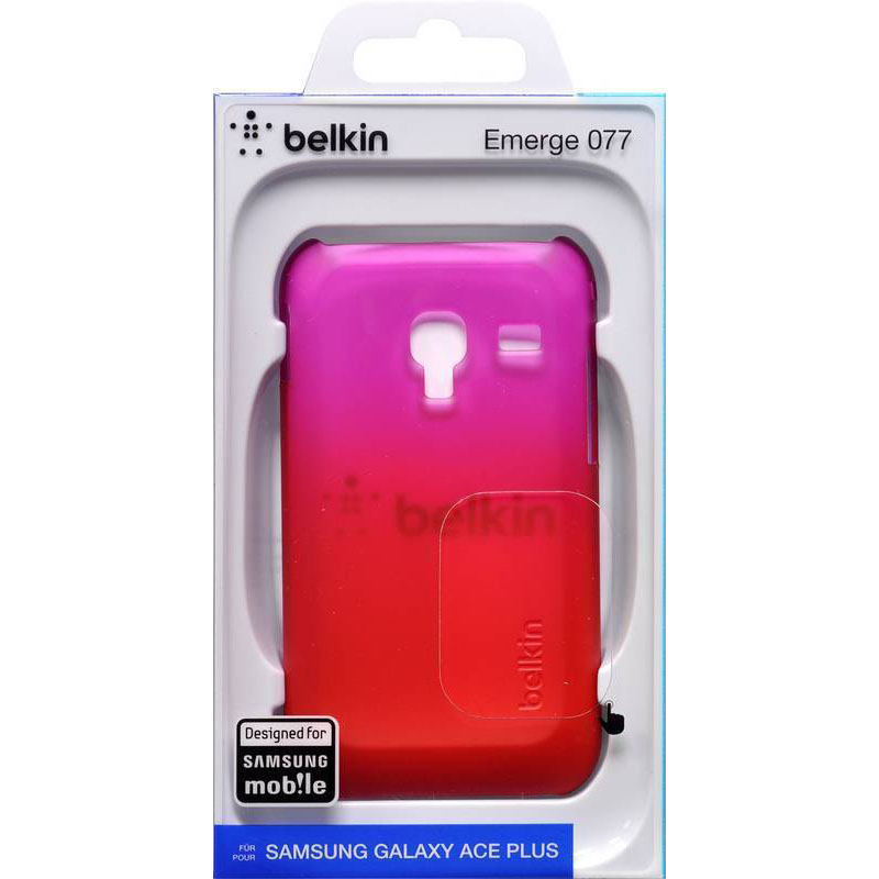 Belkin Polycarbonate Case για Samsung Galaxy Ace Plus (F8M331cwC02): Super Thin Protection
