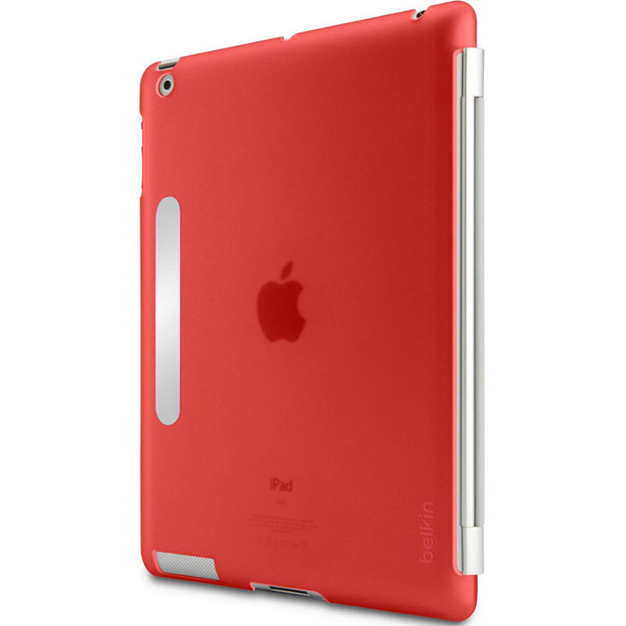 Belkin F8N745cwC02 Snap Shield Secure Slim Cover Red για iPad 2,3 (συμβατή με το Apple Smart Cover)