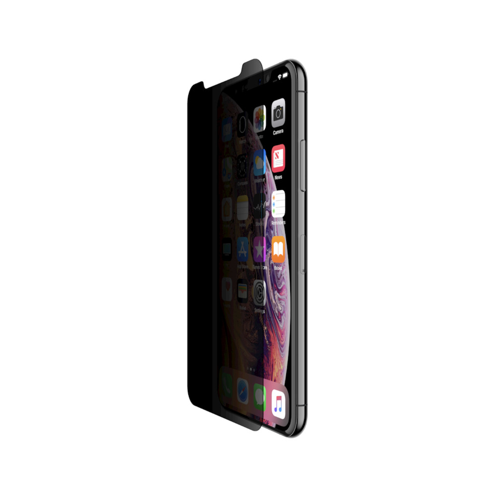 Belkin InvisiGlass Ultra Privacy Screen Protection για Apple iPhone X / XS - 11 Pro (F8W955zz) (Case Friendly)