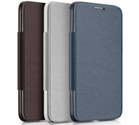 Alcatel FC6050 Original Flip Cover Case για Alcatel One Touch Idol S 2 OT-6050A Slate