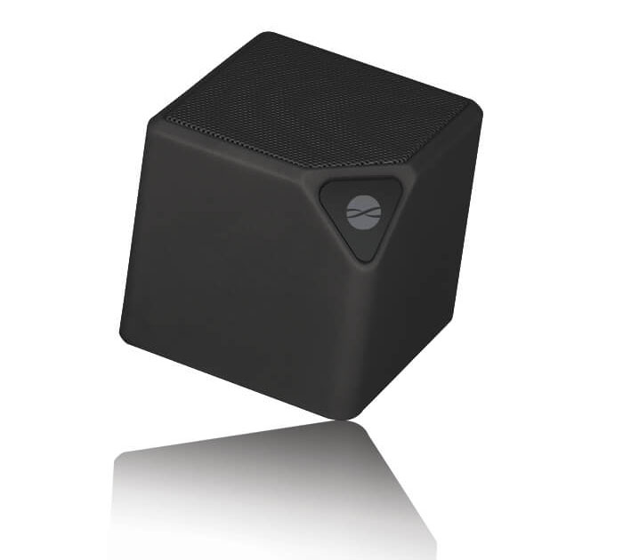 Forever BS-130 Black Multimedia Bluetooth Speaker & Hands-free with FM Radio + microSD + USB + Line-In