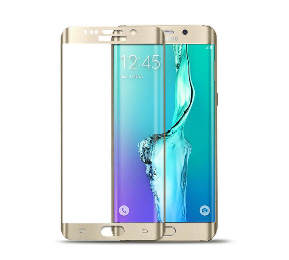 Forever Premium 3D Tempered Full Glass Protector για Samsung SM-G925F Galaxy S6 Edge Gold