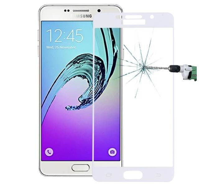 Forever Premium 3D Tempered Full Glass Protector για Samsung SM-A710F Galaxy A7 (2016) White