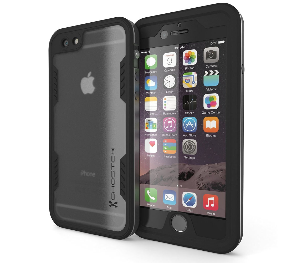 "Ghostek Atomic 2.0 WaterProof, DirtProof, SnowProof, ShockProof Case Grey για Apple iPhone 6 / 6S Plus (5.5"") (Αδιάβροχη θήκη!)"