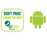 GInius Driver Don't Panic Standard Edition με Χάρτες Ελλάδας (Android Smartphone & Tablet Version)