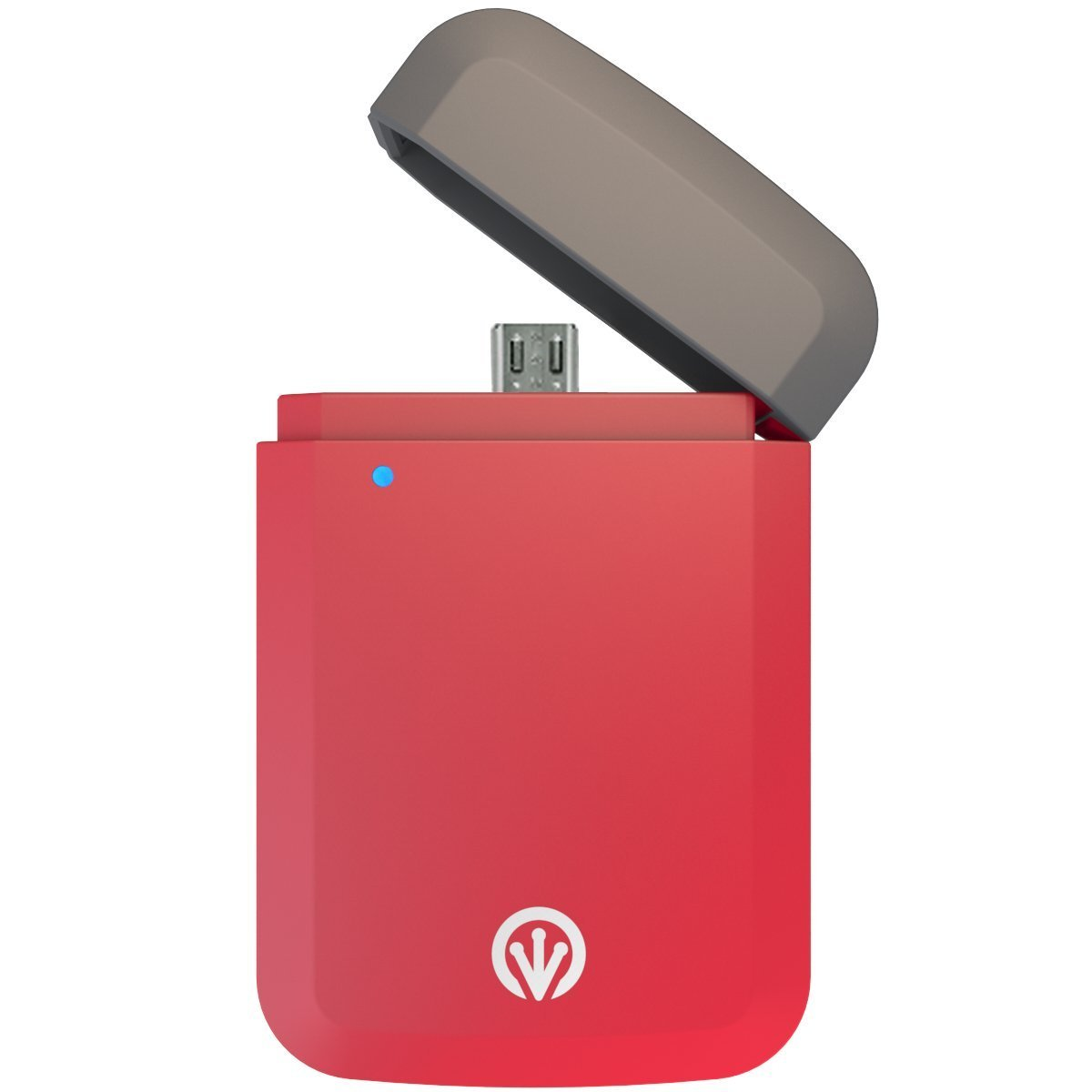 iFrogz Golite Express Red Portable Charger (φορτιστής ανάγκης μπρελόκ, με microUSB)