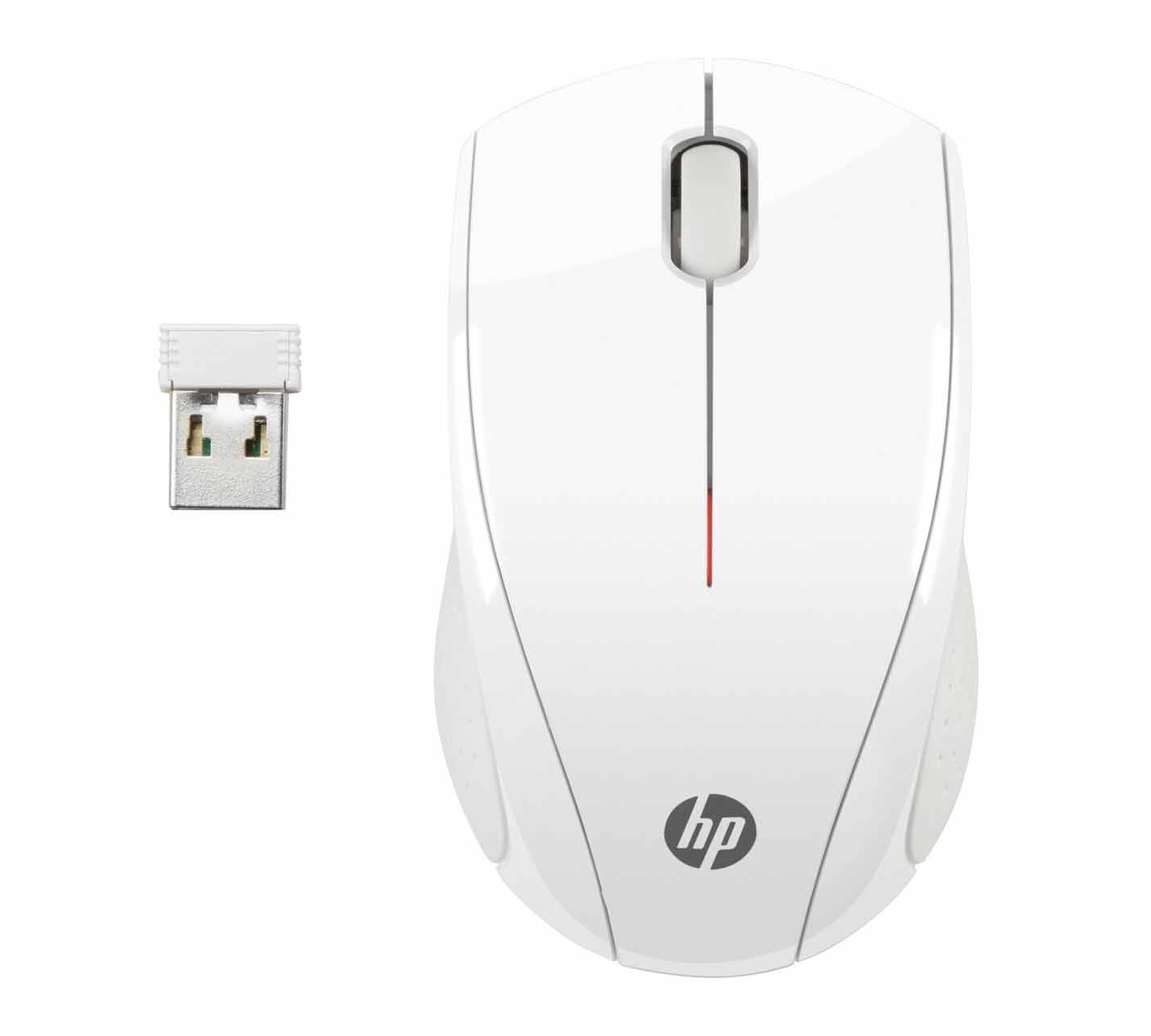HP X3000 Wireless Optical Mobile Mouse White N4G64AA (Ασύρματο οπτικό ποντίκι)