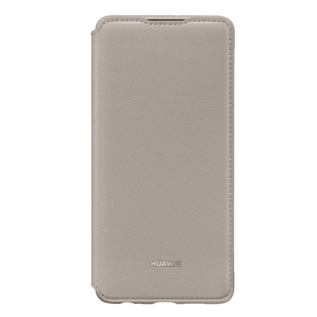 Huawei Original Wallet Cover Case για Huawei P30 Khaki