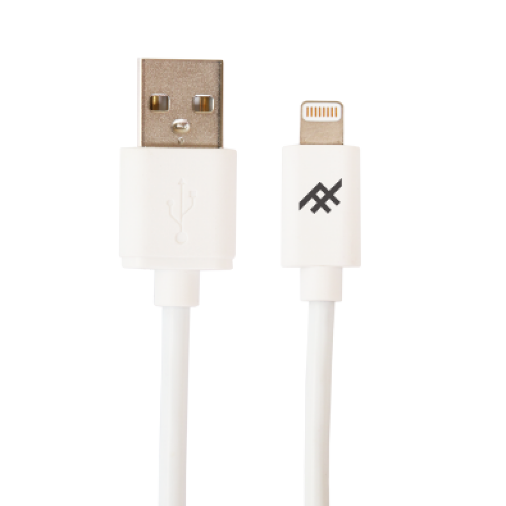 iFrogz UniqueSync Charge/Sync Lightning Cable 1.8m White με Πιστοποίηση MFI