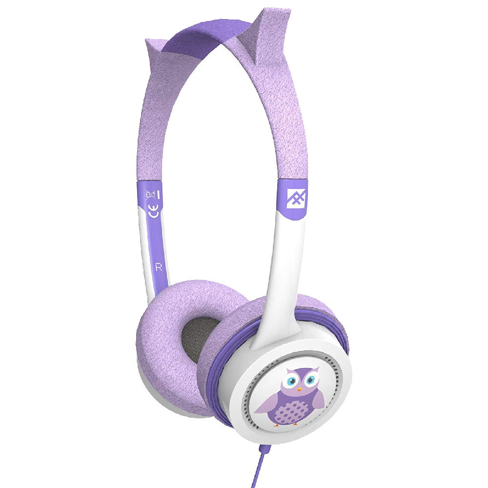 iFrogz by ZAGG Little Rockerz Costume Headphones Owl: Kid-Friendly Volume Limiting Headphones