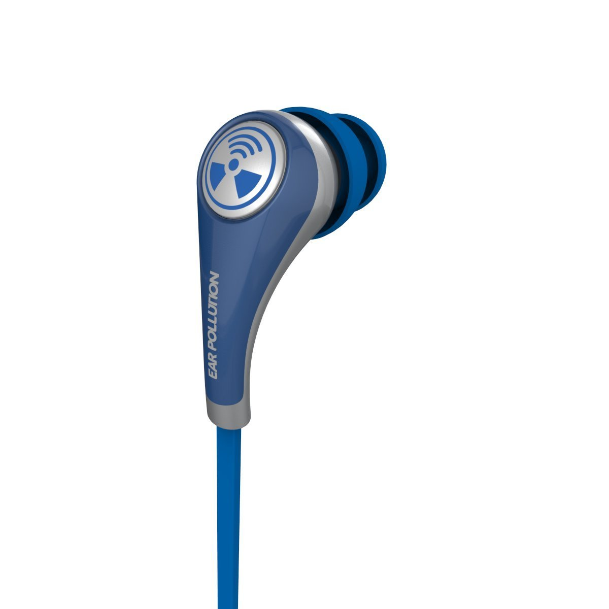 iFrogz Plugz Mobile with Mic Blue: Supreme Quality Stereo Headset & Hands-Free (κλήσεις & μουσική με Flat καλώδιο)