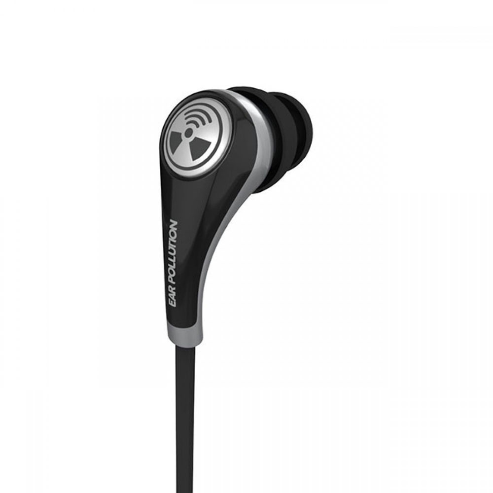 iFrogz Plugz Mobile with Mic Black: Supreme Quality Stereo Headset & Hands-Free (κλήσεις & μουσική με Flat καλώδιο)