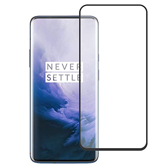 Inos Tempered Glass Full Face Screen Protector για Oneplus 7 Pro Black