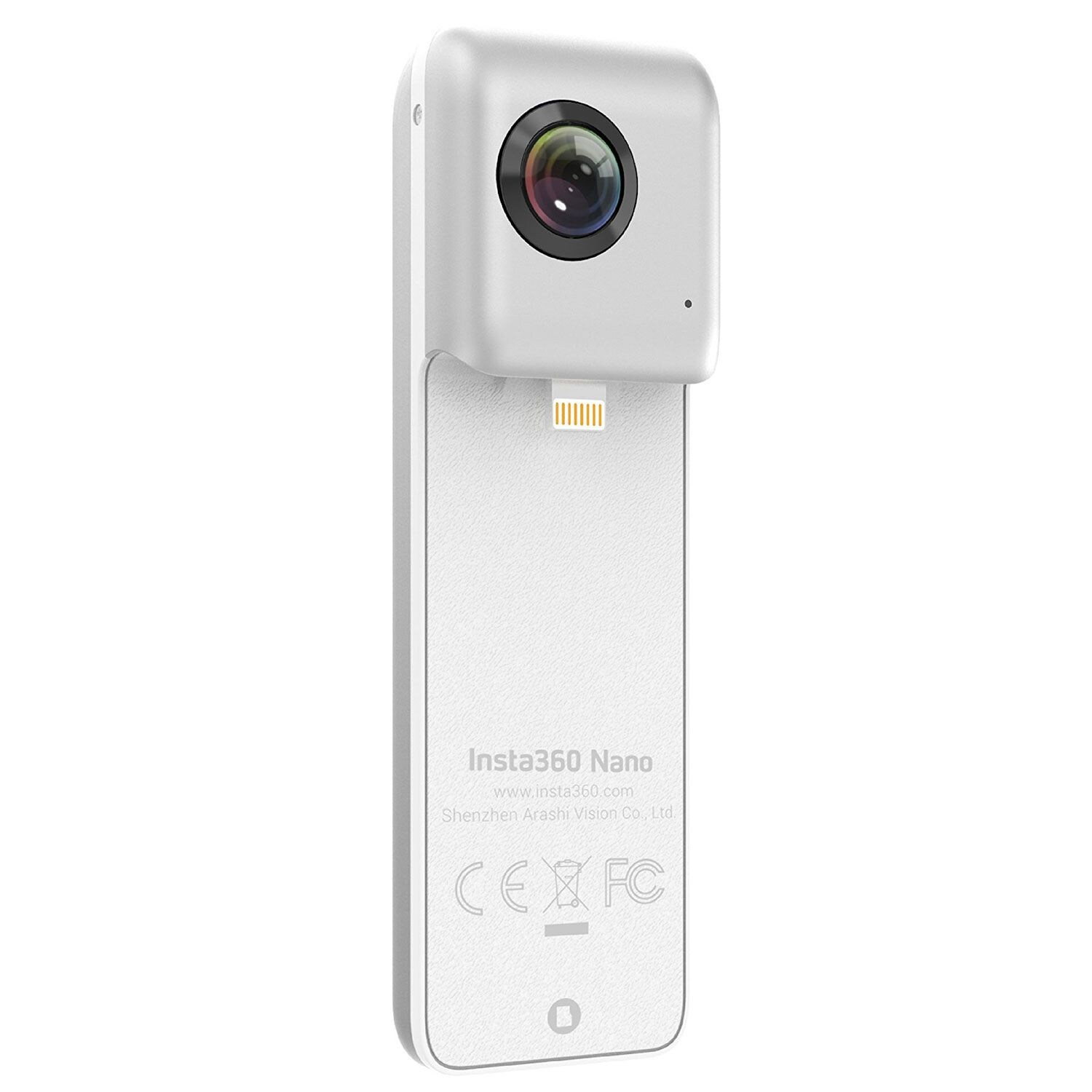 Insta360 Nano Action Camera White για iPhone (8, 8 Plus, 7, 7 Plus, 6S, 6 Plus, 6S Plus) ή & μεμονωμένα